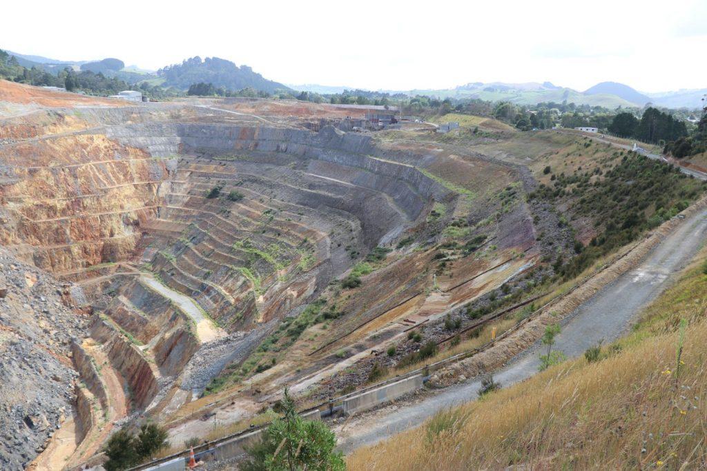 Die Martha-Mine.