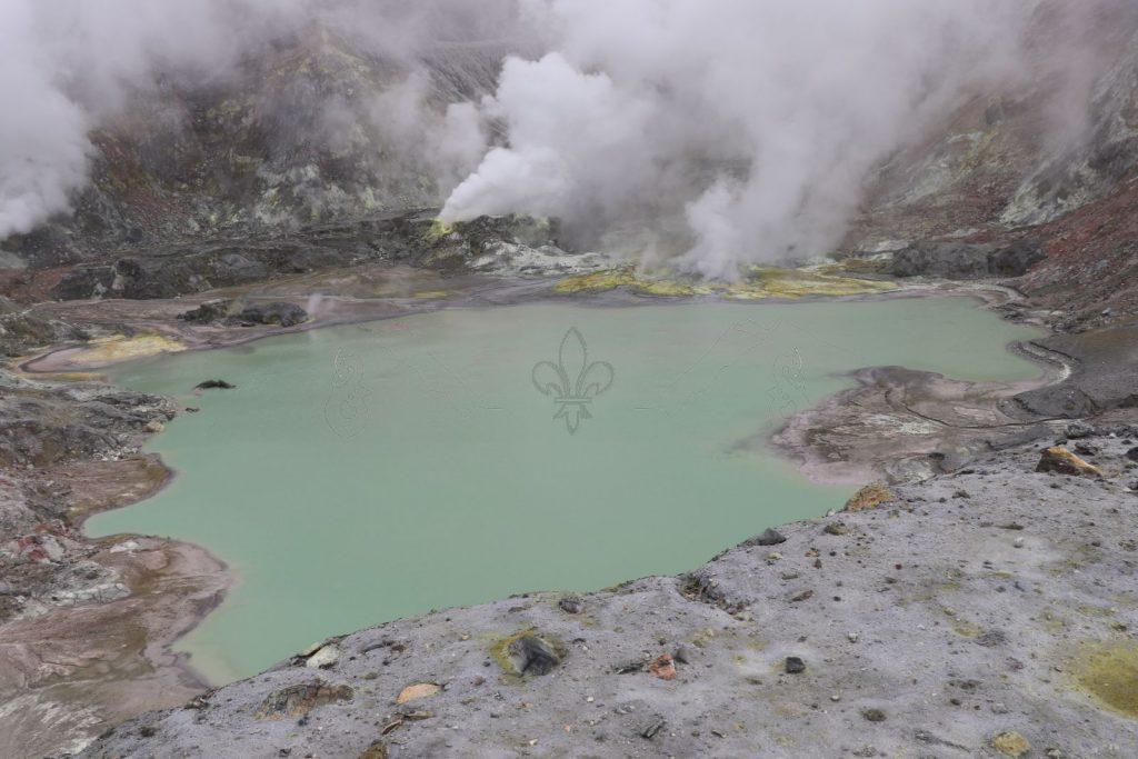 Der Kratersee.