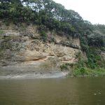 Der Fluss kann schnell um mehrere Meter ansteigen, wie auch die Spuren an den Wänden zeigen.