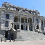 Das Parlamentsgebäude.