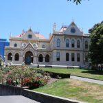 Die Parlamentsbibliothek.