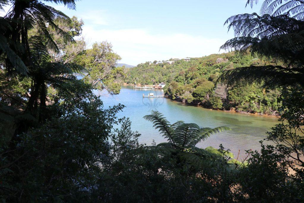 Traumhaft – Blick vom Queen Charlotte Track über Camps Bay.