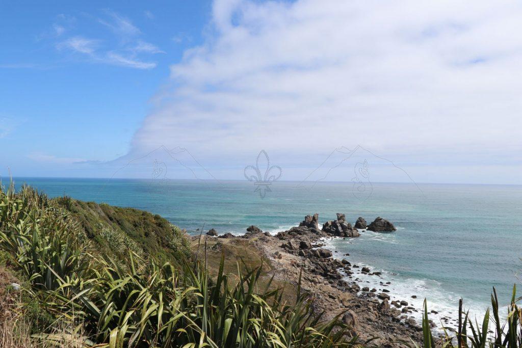 Die Tasmanische See am Cape Foulwind.