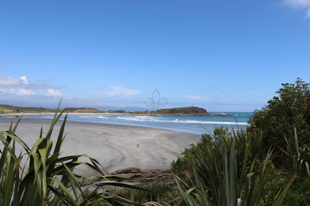 Blick über Tauranga Bay.