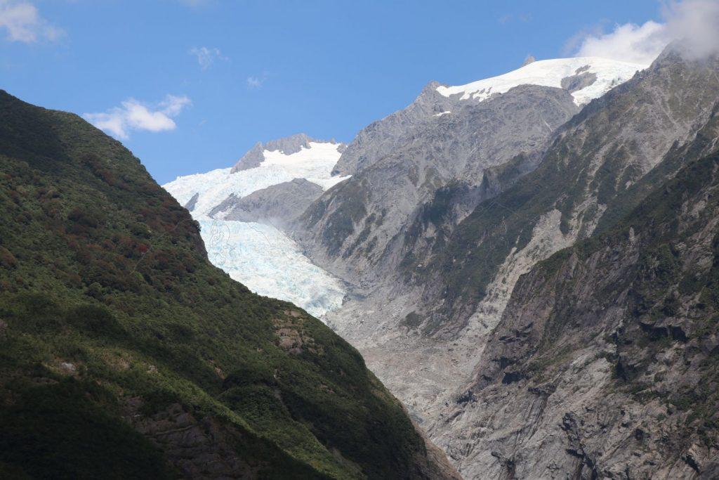 Der Fox-Gletscher.