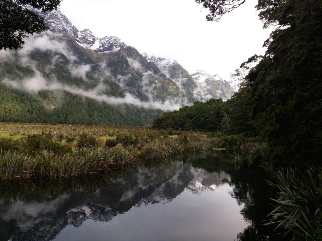 Einer der Mirror-Lakes.