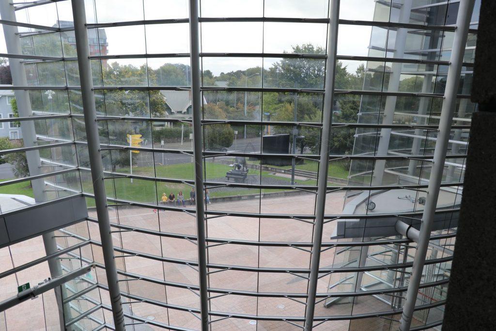 Blick aus der Kunstgalerie.