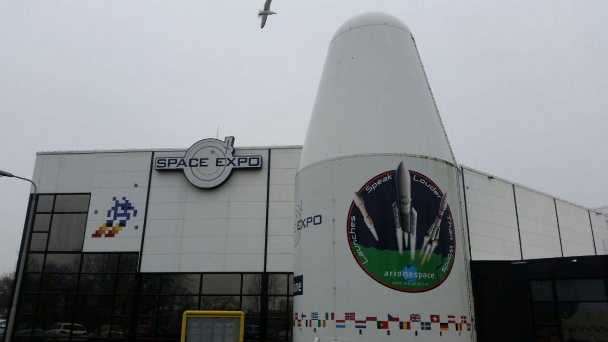Besuch in der SPACE EXPO in Noordwijk/Niederlande