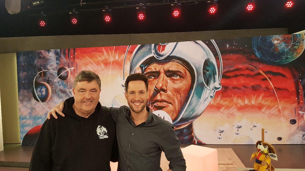 PERRY RHODAN zu Gast im WDR-TV