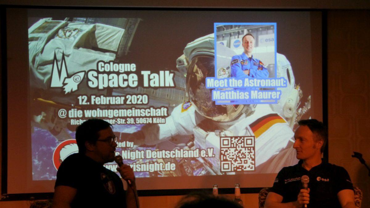 Das war der Cologne Space Talk mit ESA-Astronaut Dr. Matthias Maurer